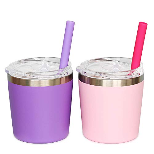 Colorful PoPo Cute Small Stainless Steel Mom and Kids Tumbler