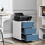 Zoom IMG-1 songmics cassettiera da ufficio studio