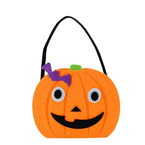 WSJKHY Halloween Halloween-pompoen-zak-emmer-mand-snoepjes-Halloween-decoratie-versiering A5