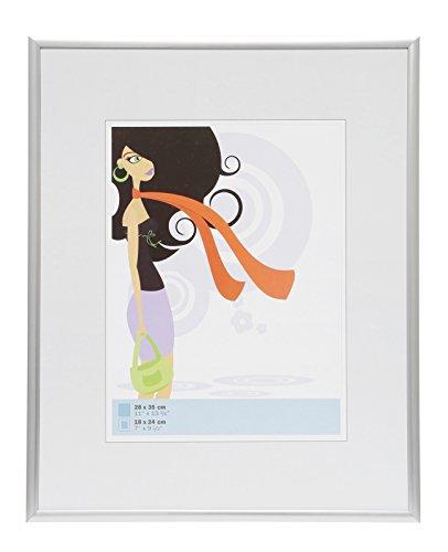 Deknudt Frames S011D1 28 x 35 cornice grigio argento resina