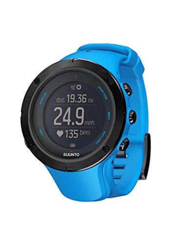 Suunto Ambit3 Peak HR Monitor Running GPS Unit, Sapphire Blue