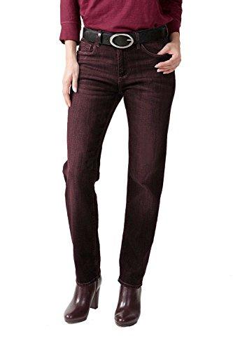 STOOKER Zermatt Damen Slim Fit Stretch Jeans My Favs Collection (40 (31/28), 3140 Crushed Berry)