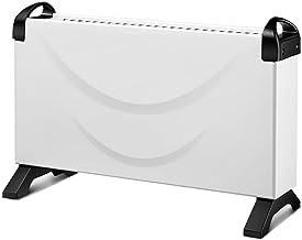 Radiador de Aceite Control de Temperatura de Dos Velocidades 360 ° sin CalefaccióN por CirculacióN de áNgulo Muerto, Radiador eléCtrico DoméStico Silencioso Y Silencioso/Blanco / 2000w