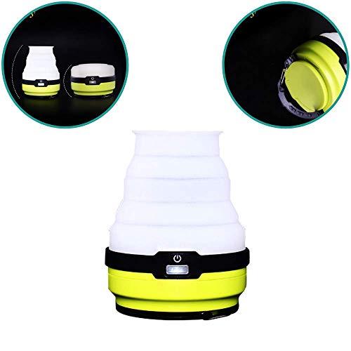 Patabit - Lámpara de camping LED - Linterna LED portátil de exterior...
