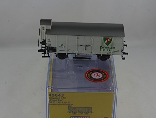 Brawa 49043 Güterwagen G10 DB Pyraser Bier