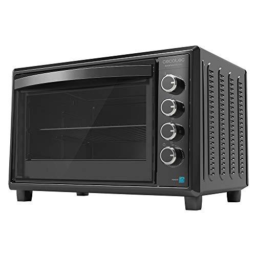 Cecotec Horno de sobremesa Bake&Toast Gyro 850. Capacidad 60 litros, 12 Funciones, Potencia 2200 W, Incluye Rustidor Giratorio