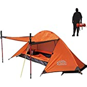 camppal 1 3 4 Person Tent for Camping Hiking Mountain Hunting Backpacking Tents 4 Season Resistance to Windproof Rainproof and Waterproof