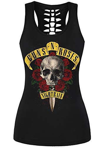 Guns N Roses Nightrain Tank Top for Women
