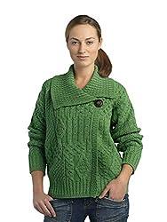 6d47a1aa966 Top 15 Women s Irish Aran Merino Wool Sweaters and Cardigans ...