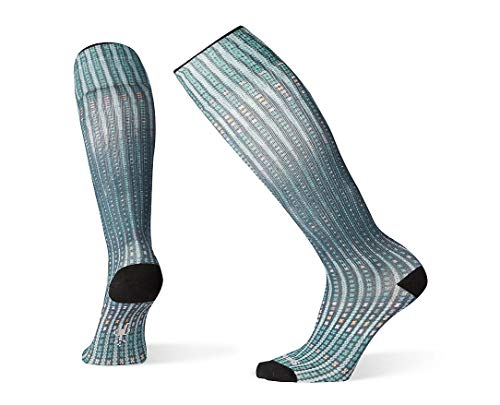 Smartwool PhD Outdoor Light Socks - Women's Virtual Voyager Compression Wool Performance Sock