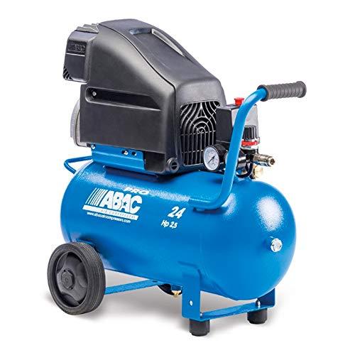 Compressore aria a pistone lubrificato 24 litri POLE POSITION L25P ABAC