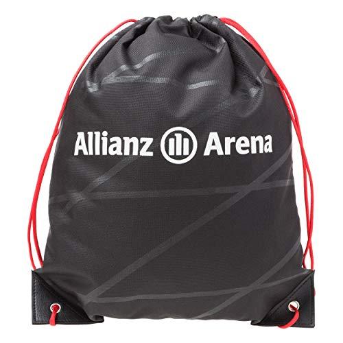 SPORTMAX Bayern München kompatibel Sportbeutel + Aufkleber München Forever, Tasche, Sports Bag, Gym Bag, Bolsa de Deporte, sac de Sport Sporttasche