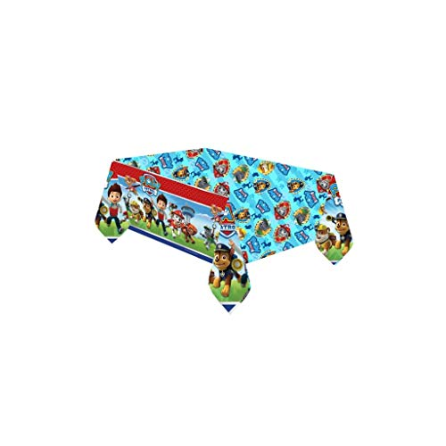 Amscan International-33854 Mantel Patrulla Canina, Multicolor, 30 x 1 x 18 cm (999136)