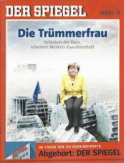 Der Spiegel 2015-28 Die Trümmerfrau - Scheitert der Euro, scheitert Merkels Kanzlerschaft. Im Visier der US-Geheimdienste - Abgehört - Der Spiegel.