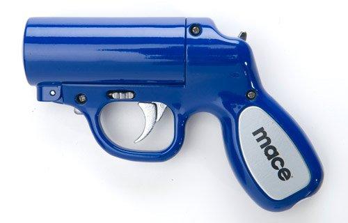 Mace Police Strength Pepper Spray Pepper Gun (Blue)