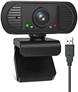 Cámara web Full HD 1080p, 2 MP PC Web Cam USB para computad