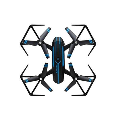 8809W 0.3PM 2.4G UAV WiFi Retter Faltbare Luftfahrzeug Drone RC Flugzeug Spielzeug Headless Modus,Höhenhaltung Eingebauter 6 Achsen Gyro (B)