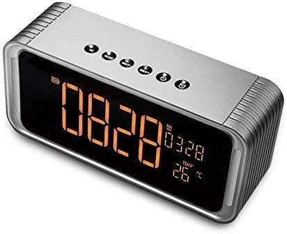 Bluethooth Speaker Poweriver ViewSonar with Alarm Clock Handsfree HD Call FM Radio Rich Bass product image