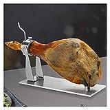 QTBH Jamonero Soporte de jamón de jamón Soporte de jamón Piedra de la Pierna Soporte para la Cocina Bar Restaurante Chef Chef Accesorios, Herramientas de la Fiesta de la Cocina Tabla Jamonera