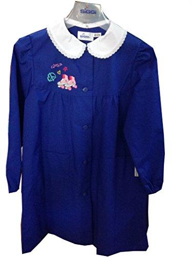 siggi Grembiule Scuola per Bambina Colore Blu Art.33GR2867