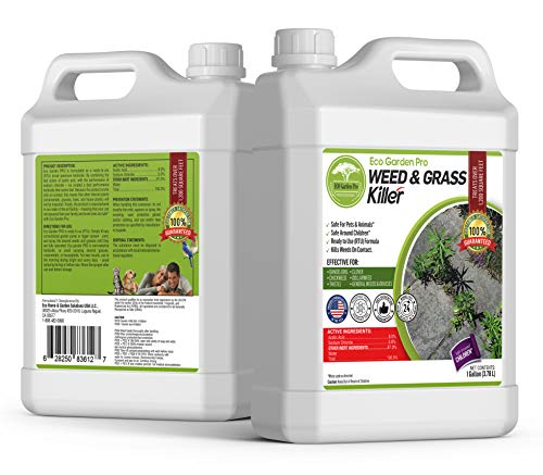 ECO Garden PRO - Organic Vinegar Weed Killer | Kid...