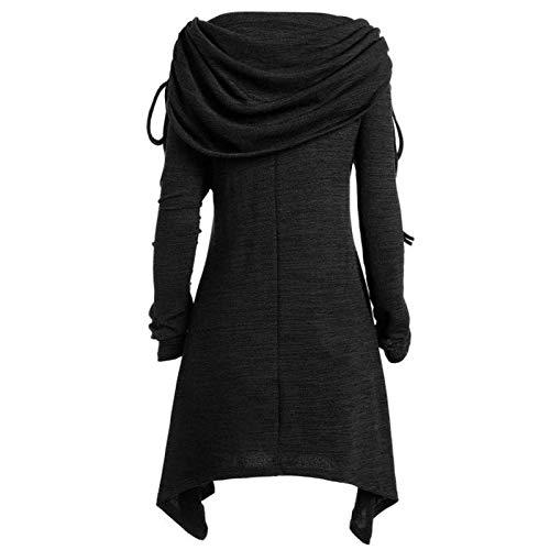 DAY8 Pullover Damen Elegant Winter Rollkragenpullover Strickpullover Plus Size Womens...