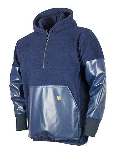 Guy Cotten - Polaire avec revêtement PVC au niveau des manches et de la poche frontale XL bleu marine