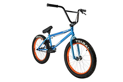 Tribal Trampa BMX - Bicicleta BMX, Color Azul Cielo metálico