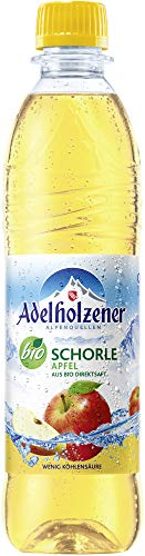 Adelholzener Bio Schorle Apfel (6 x 500 ml)