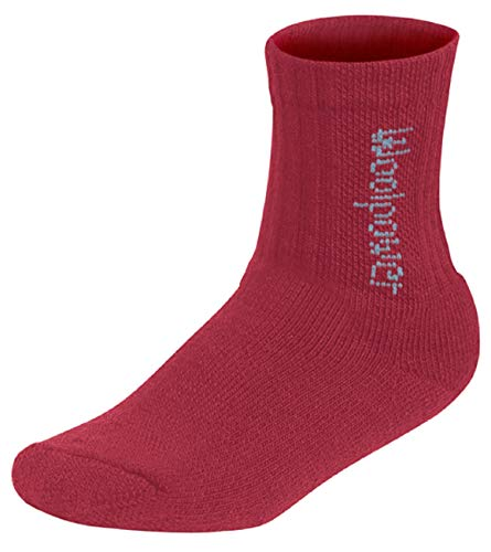 Woolpower Kinder Merinowollsocken Classic 400 Funktionssocken warm, Farbe:pink, Socken:25-27