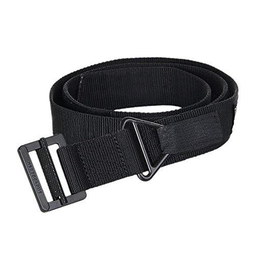 Survival Tactical Belt, Emergency Fire Rescue Rigger Waist Belt Military CQB Belt