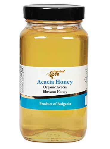 900 g Rauwe Bio Acacia Bloesem Honing (Puur, Onverwarmd, Geen Suiker)