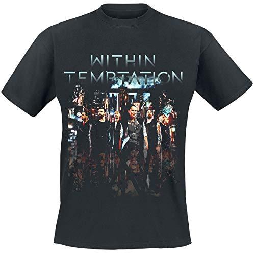 Within Temptation Neo City Männer T-Shirt schwarz XL 100% Baumwolle Band-Merch, Bands