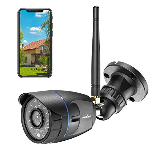 Outdoor Security Camera, Wansview 1080P Waterproof WiFi Home Security Surveillance Bullet Camera...