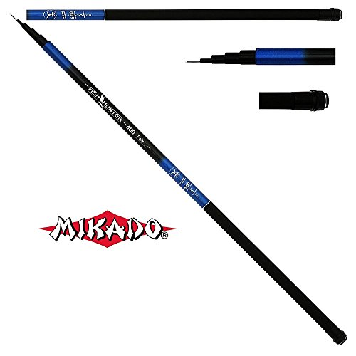 Mikado Fish Hunter Tele Pole unberingte teleskopierbare Stipprute 3,0 bis 7,0m (3,0m / 145g)