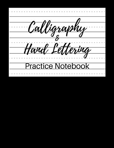 Calligraphy Paper for Beginners: Modern Calligraphy Practice Sheets - 100 sheets, Nifty Hand Lettering Practice Notepad, Calligraphy Parchment Paper, Alphabet Practice & Dot Grid Paper Practice Sheets