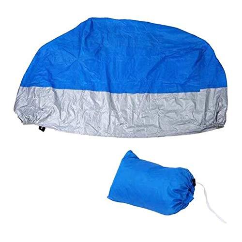 HEWYHAT Cubierta de la Motocicleta, Resistente a Prueba de Agua a Prueba de Polvo Protección UV Transpirable Cubierta Protectora al Aire Libre,D,3XL