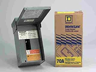 Homeline Main Lug Load Center 70 Amp 2 Space Boxed