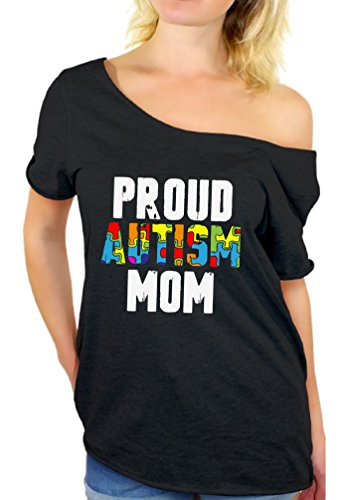 Awkward Styles Proud Autism Mom Off Shoulder Shirts Autism...