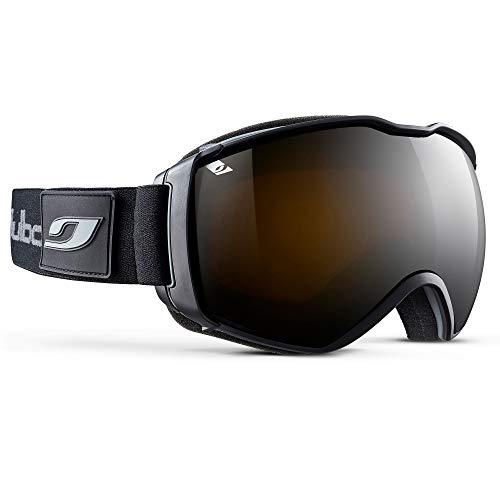 Julbo Herren Airflux Skibrille, schwarz/schwarz, XL