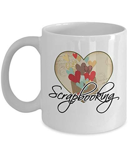N\A Taza Scrapbook - Corazón Scrapbooking - 11oz