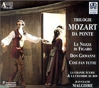 Trilogie Mozart Da Ponte (Le nozze di Figalo / Don Giovanni / Cosi fan tutte)
