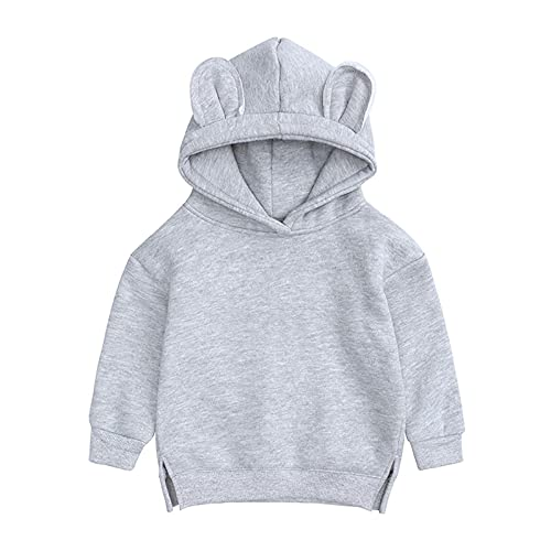 YQSR - Chaqueta para niños con capucha y capucha, para niñas, niñas, niñas, niñas, niñas, abrigo de invierno con capucha, chaqueta con capucha