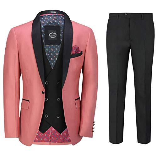 mens 3 pieces tuxedo suits