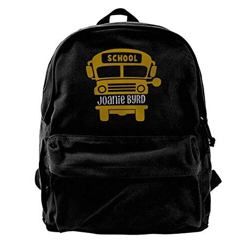 GOSMAO Mochila de Lona Mochilas Escolares Autobús Escolar Mochila de Lona para portátiles Mochilas de Viaje Bolsa de Gran Capacidad Unisex