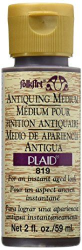 FolkArt Antiquing Medium (2-Ounce), 819 Apple Butter Brown (JA819)