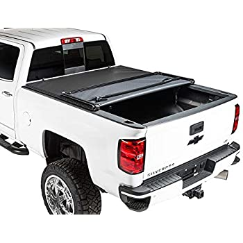 2009-2018 Ram Truck RC44309550 fits 5.7 FT Bed Rough Country Soft Tri-Fold No RamBox Truck Tonneau Cover