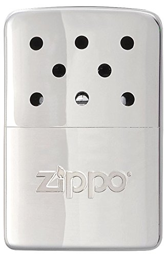 Zippo Unisex's Hour Heat 6 Easy Fill Re-Useable Hand Warmer, Chrome 6 Hr