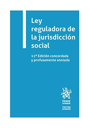 Ley Reguladora De La Jurisdicción Social 11ª Edición 2020 (Textos Legales)