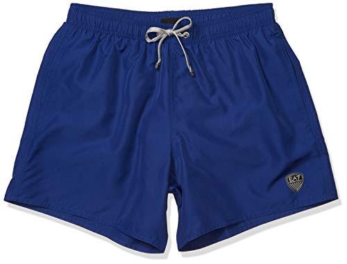 Emporio Armani Herren Sea World Beachwear Core 2m Boxers Boardshorts, Mazarin-blau, X-Small